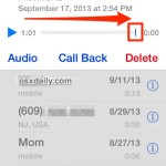 Mark Voicemail as Read on the iPhone