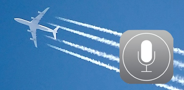 See AirPlanes flying overhead with Siri and the iPhone