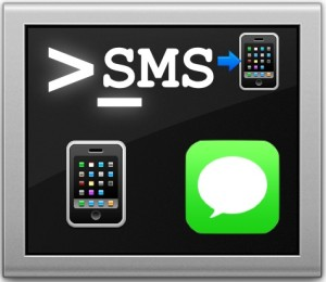 Send a text message from the command line