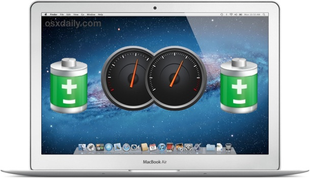 Target specific battery draining apps and processes in OS X