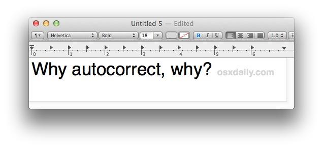 disable-autocorrect-textedit-mac