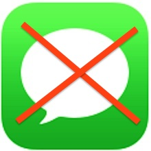 Disable iMessage in iOS Completely