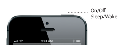 iPhone 5 power / sleep / wake button