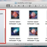 Tags in the Sidebar of Mac OS X
