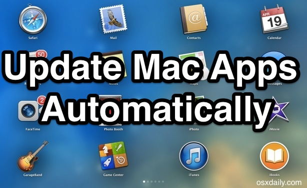 Update Mac Apps automatically