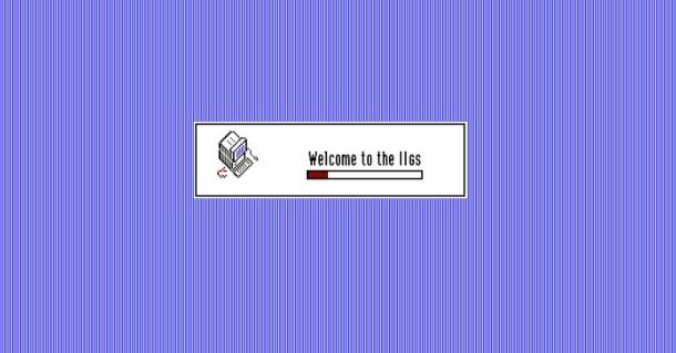 Apple IIGS Boot Screen