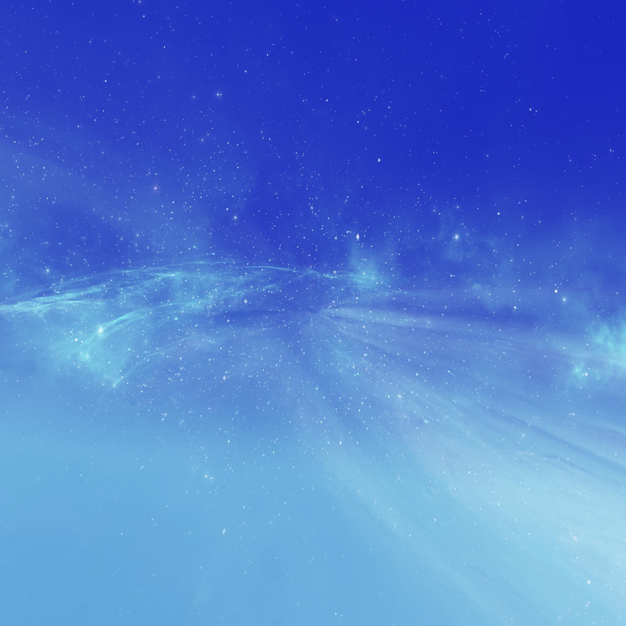 blue spaced milk