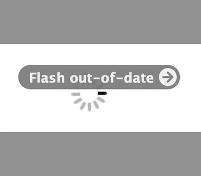 Flash out of date in Safari for Mac OS X