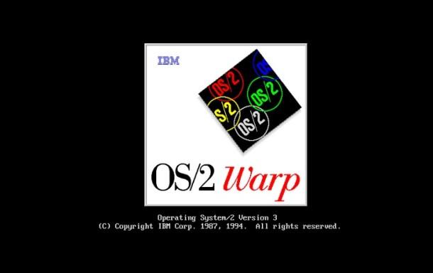OS / 2 Warp Boot Screen