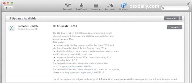 OS X 10.9.3 Update