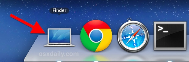 Replaced Dock Finder icon with a custom icon