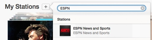 Add ESPN Radio to iTunes Radio