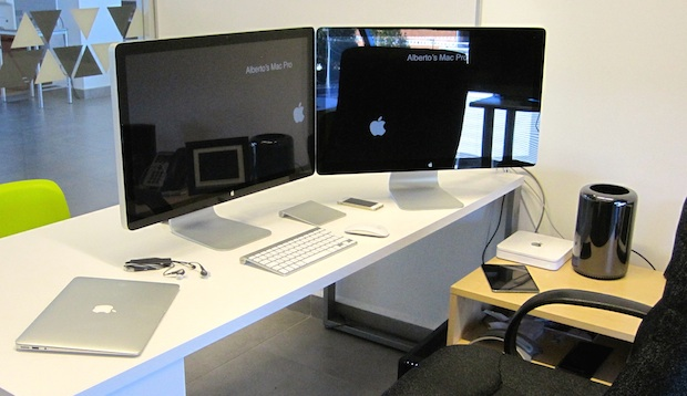 Dual Thunderbolt Displays and a Mac Pro