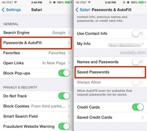 view passwords on iphone ios 7 tips and tricks page 20 9267