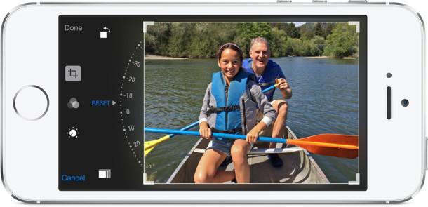 iOS 8 camera