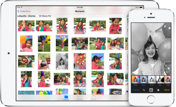 iOS 8 photo editors