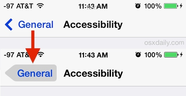 iOS Buttons enabled, before and after