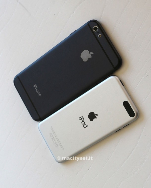iPhone 6 hardware mockup from MacItyNet in Italy