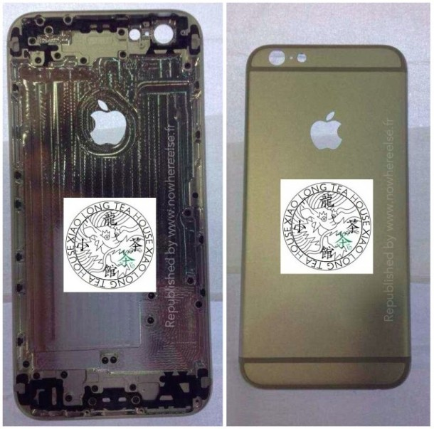 iPhone 6 rear shell supposedly