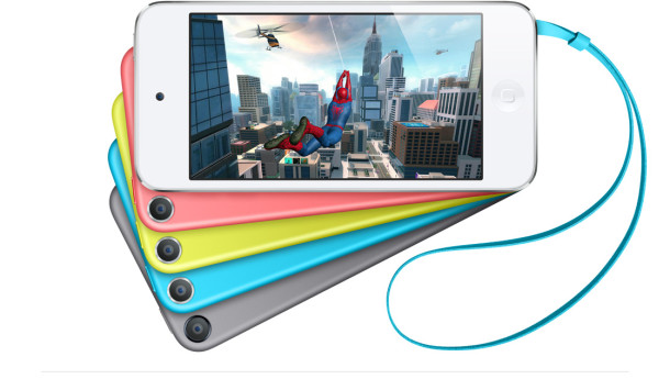 iPod touch 5th generation colors