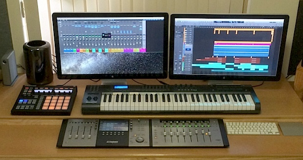 Mac Pro Music Producer setup