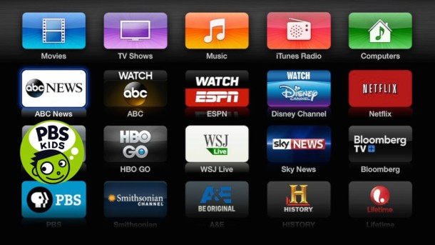 New Apple TV channels added, ABC News, PBS Kids, etc