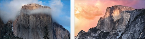 OS X Yosemite wallpapers