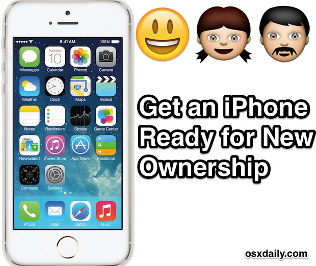 How to get an iPhone ready for a new owner