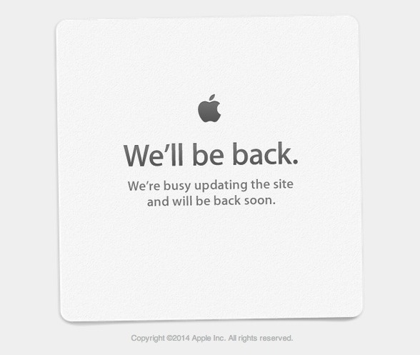 Apple site down
