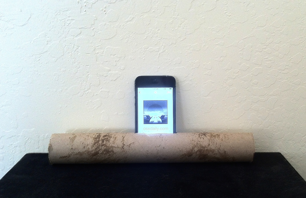 Do It Yourself iPhone Speakers