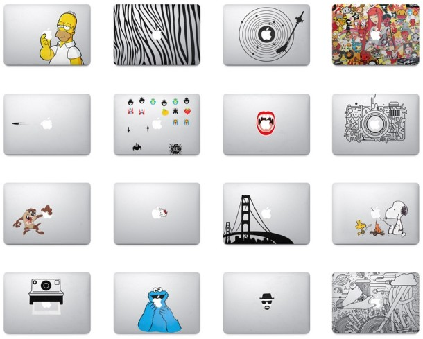 MacBook Air Stickers & Decals