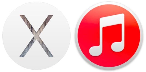 OS X Yosemite and iTunes 12