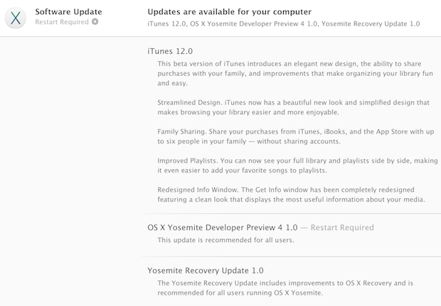 OS X Yosemite Developer Preview 4