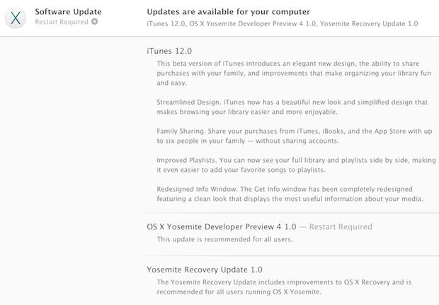 OS X Yosemite Developer Preview 4