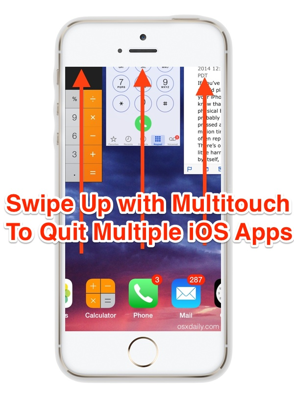 how to quit apps on iphone how to quit iphone apps simultaneously in ios 18961