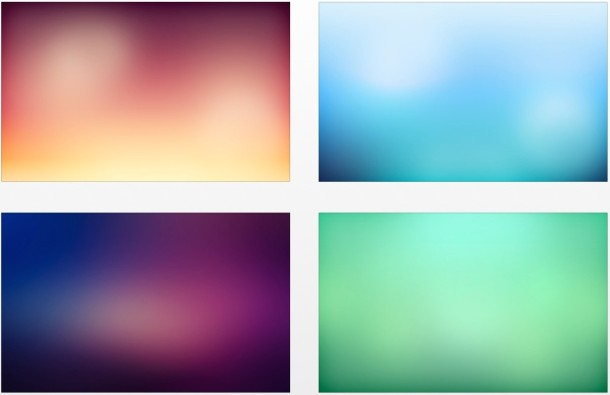 Smooth gradient wallpaper pack