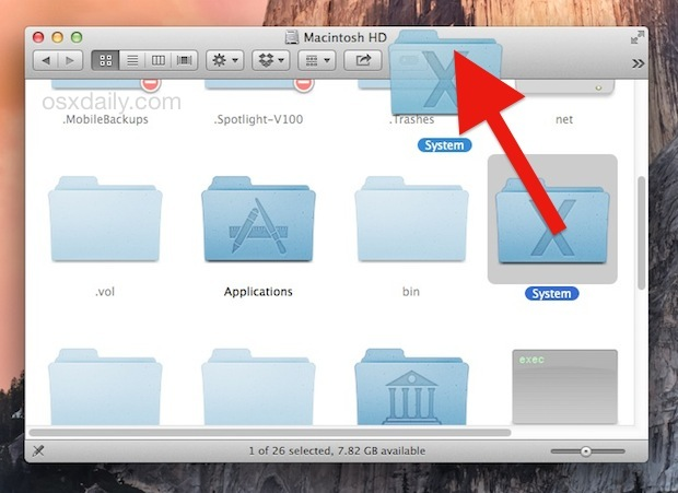 Add items to the Finder window toolbar with drag and drop