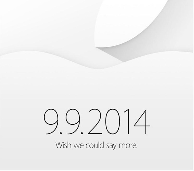 Apple iPhone 6 event invitation