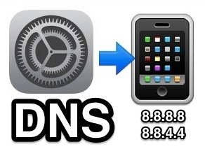 Change DNS Settings in iOS