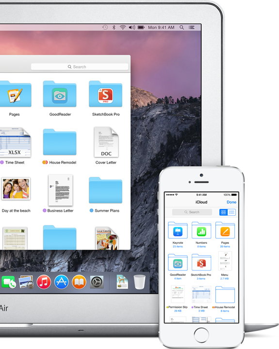 iCloud Drive in OS X Yosemite makes managing iCloud files easier from Mac and iOS