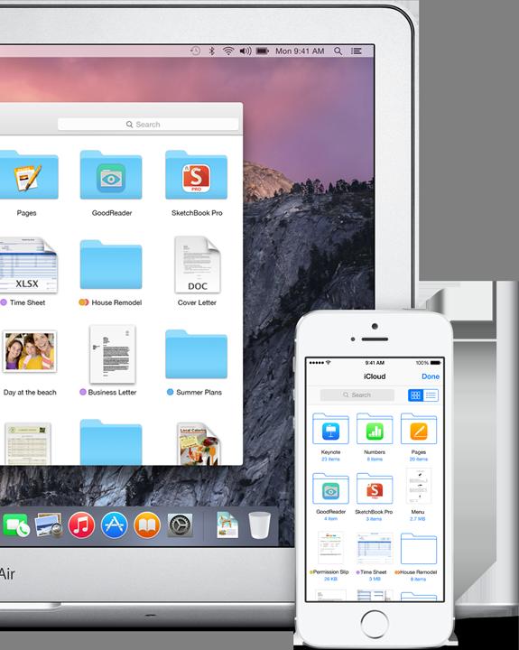 iCloud Drive in OS X Yosemite makes managing iCloud files easier from Mac and iOS