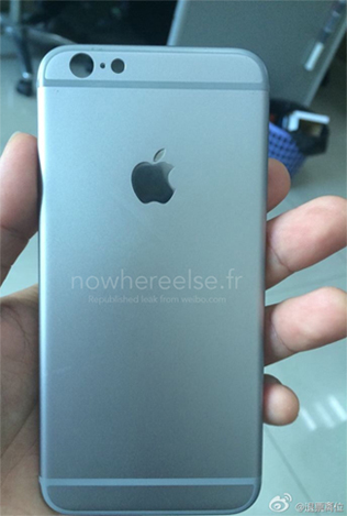 iPhone 6 rear shell