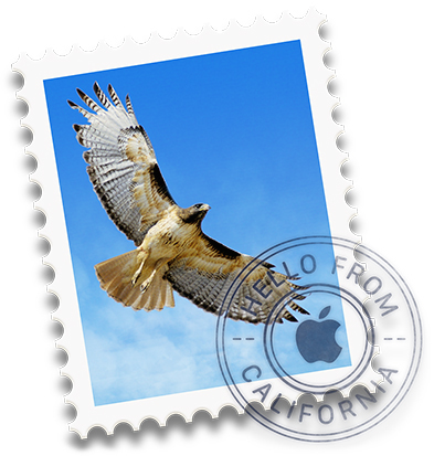 Mail app icon for Mac