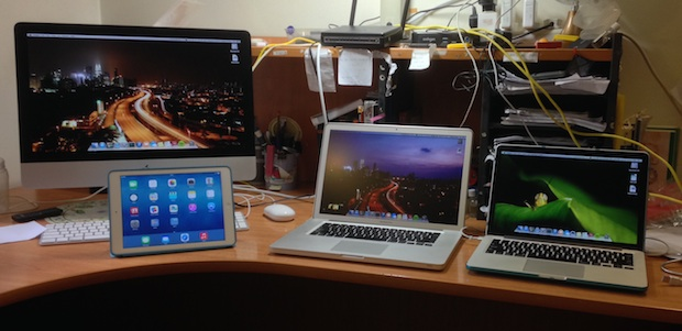 Mac setup of a hobbyist photographer and student