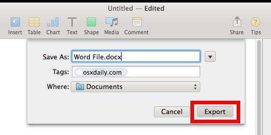 Make Word Default On Mac For .Doc