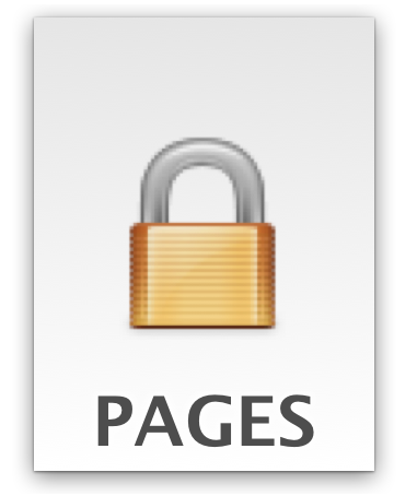 a password locked iWork document in Mac OS X