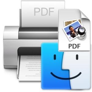 Save as PDF Keyboard Shortcut in Mac OS X