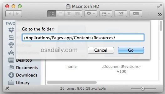 Steve Jobs speech hidden in OS X location