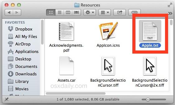 Steve Jobs speech hidden on Mac