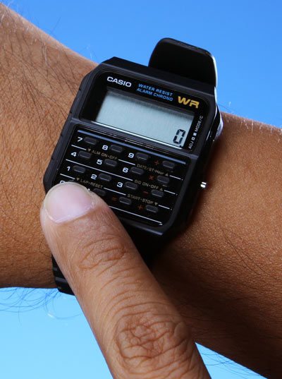 The Calculator watch from Casio was a 90s dorks best friend